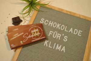 Schokolade für's Klima